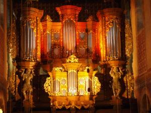 Orgel Stiftskirche Fischbeck