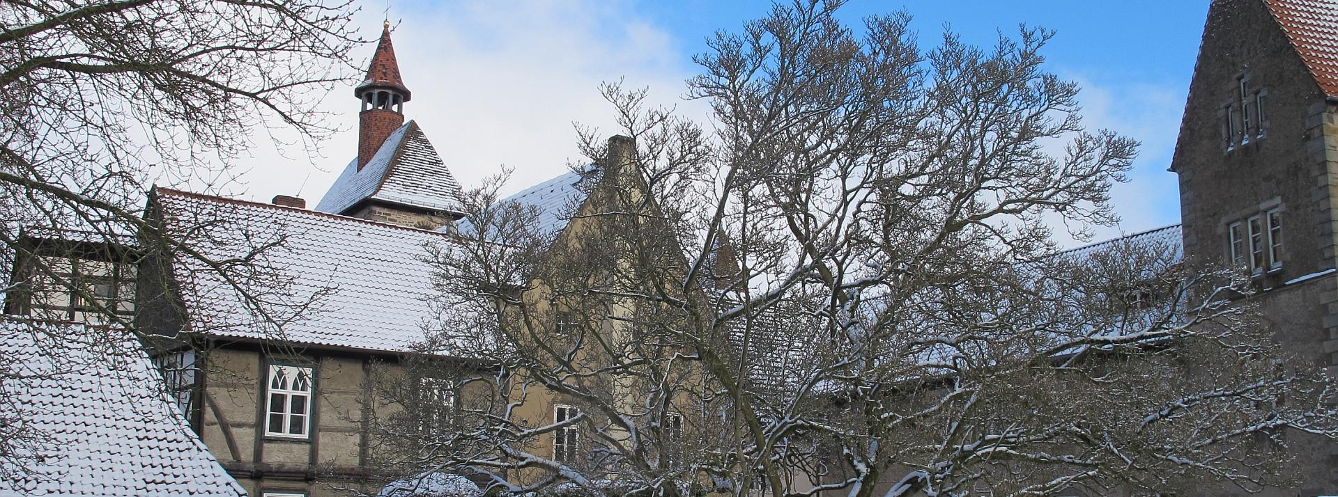 Winter im Stift