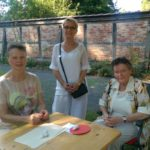Stiftsdame und fleißige Helferinnen, Foto: privat