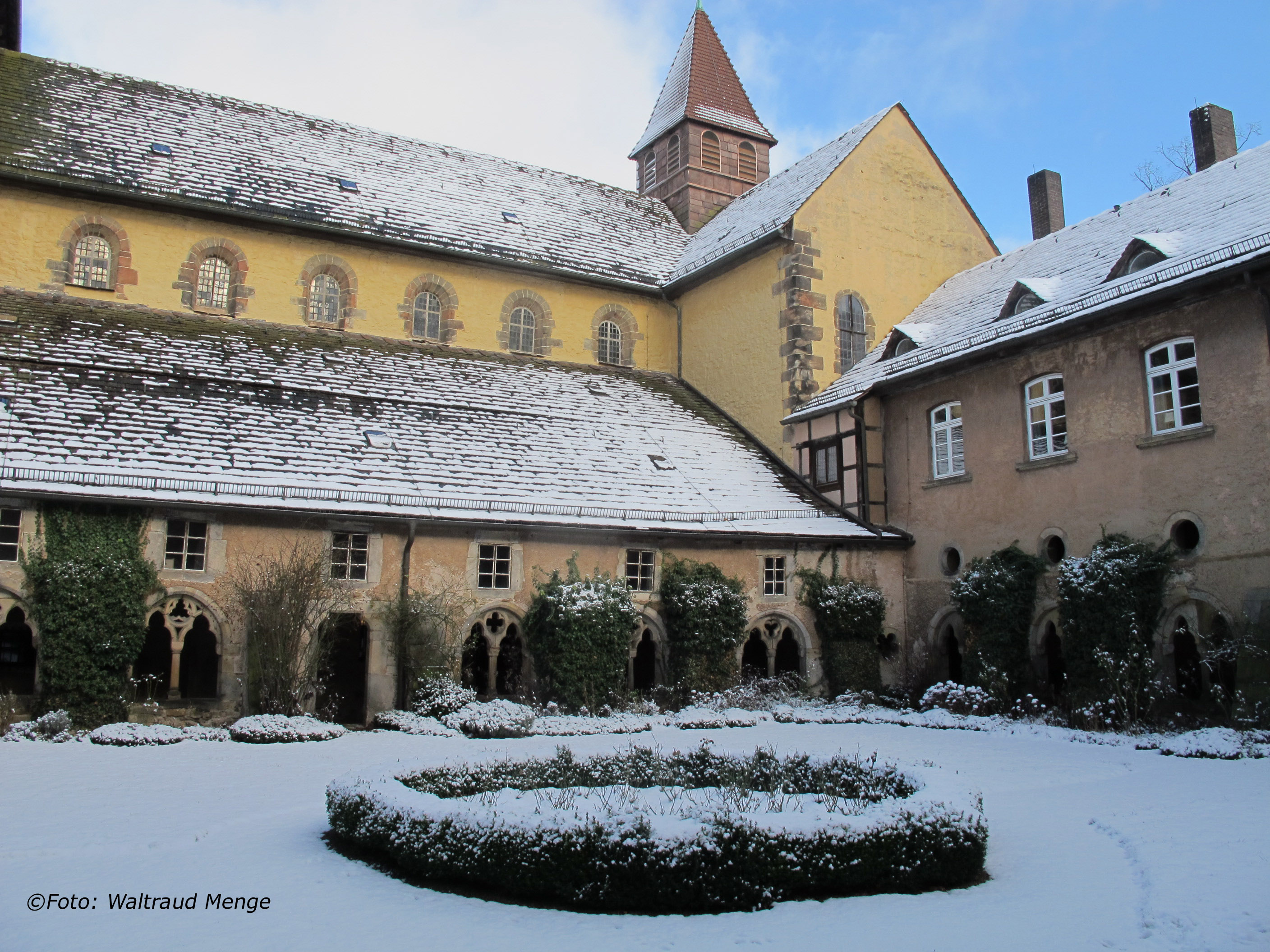 Winter im Stift ©Foto: Waltraud Menge