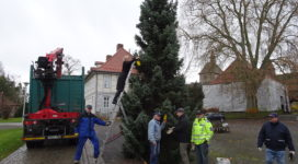Vorbereitung für den Weihnachtszauber© Jochen Graser, Fischbeck