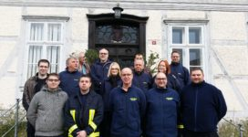 Freiwillige Feuerwehr erkundet Stift Fischbeck. Foto: Nico Stabenow